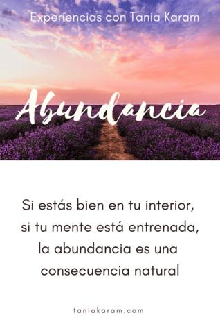 Curso de abundancia online
